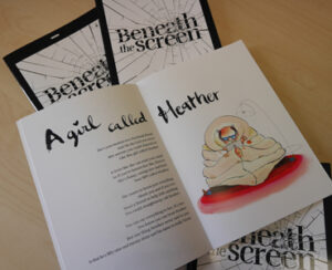 Beneath the Screen Poetry Book
