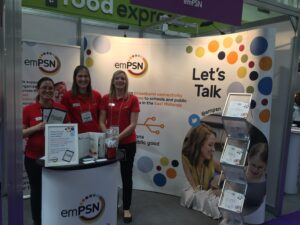 Team emPSN at The Education Show